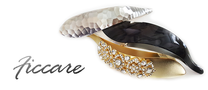 Ficcare Hammered Victorian Pearlized Acetate