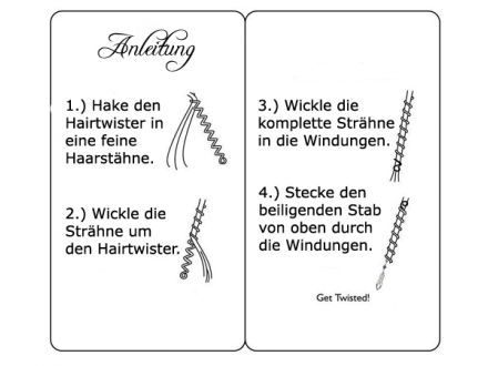 Hair Twisters: Gold - 15,5 cm