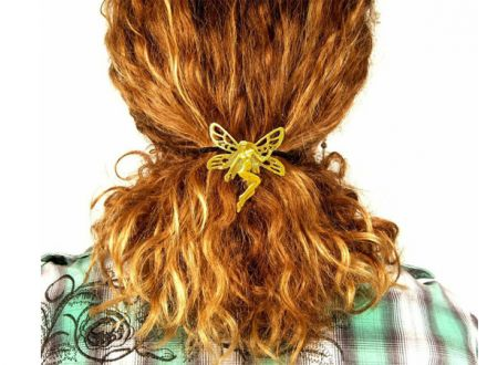 Hair Hook: Gold - Fee
