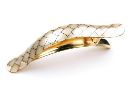 Ficcarissimo Clip: French Acetate - Shell