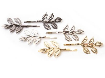 Ficcare Bobby Pins - Leaves