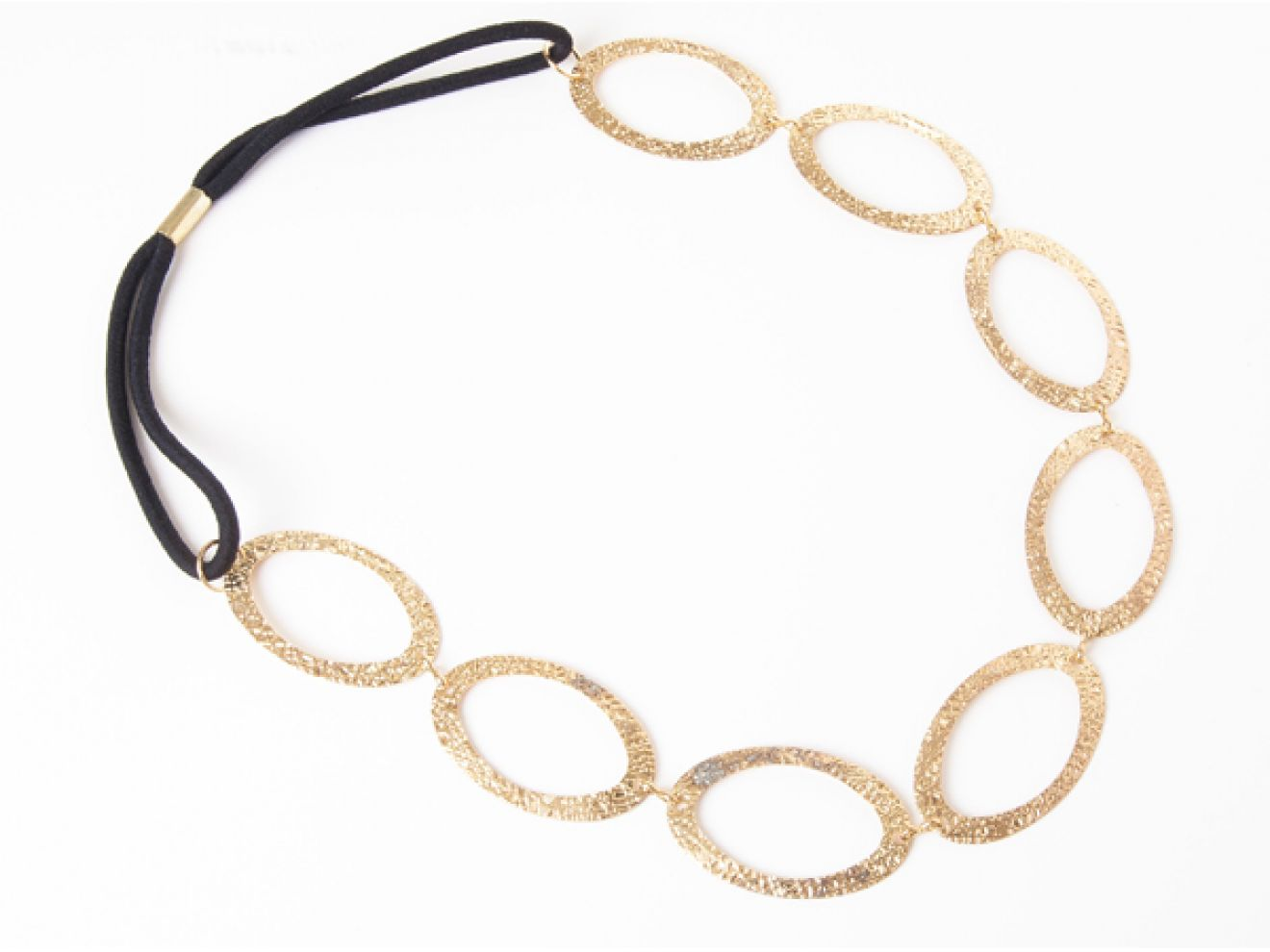Ficcare Haarband: Mesh - Large Oval - Gold